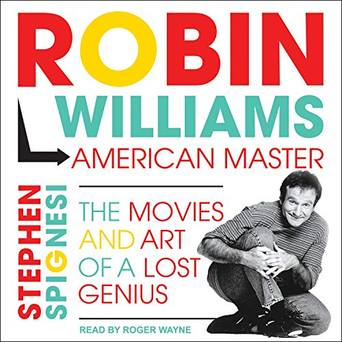 Robin Williams, American Master cover art