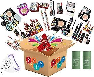 Make-up Surprise Mystery Box-cadeauset - Er is een kans om te krijgen - Inclusief oogschaduwpalet, krultang, lippenstift, ...
