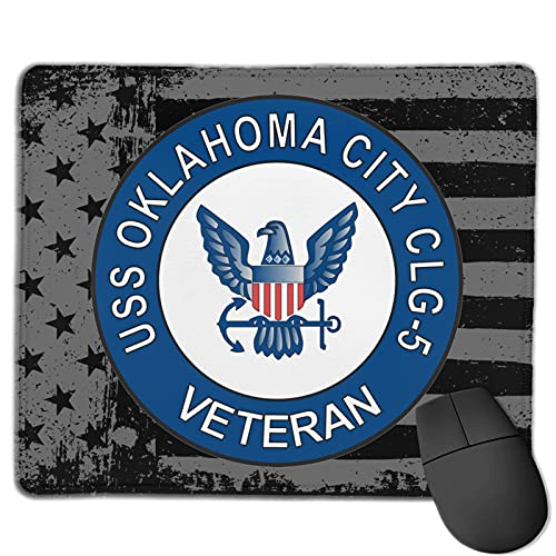 USS Oklahoma City CLG-5 Veteran Computer Mouse Pad Gaming Mouse Pad Office Products