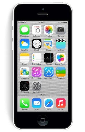 """iPhone 5C MG8X2BR/A 4"""" 8GB, Wifi + 4G - Branco"""