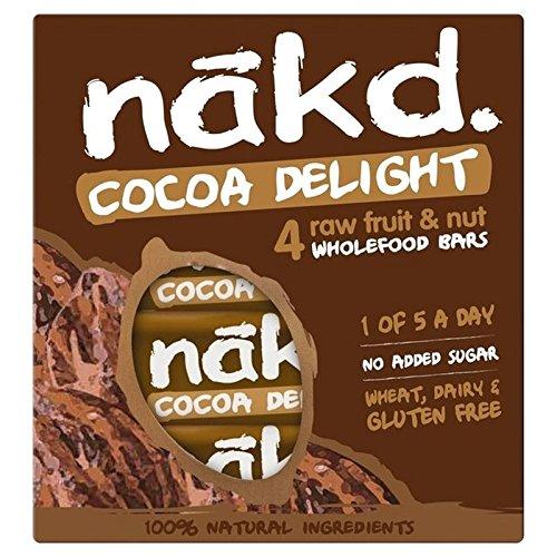 Nakd Exempt De Cacao Plaisir Multipack 4 X 35G - Paquet de 6