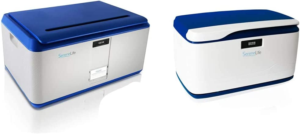 SereneLife Locking Storage Container Bin - Selling S 21 Gallon Max 87% OFF