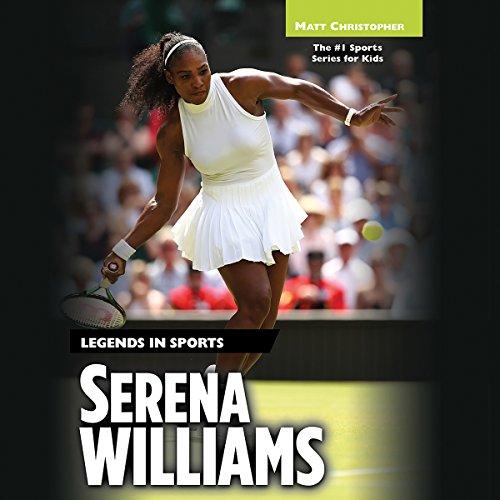 Serena Williams audiobook cover art
