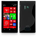 Nokia Lumia 928 Case, BoxWave [DuoSuit] Ultra Durable TPU Case w/Shock Absorbing Corners for Nokia Lumia 928 - Jet Black