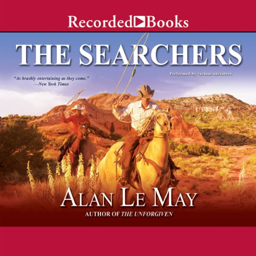The Searchers audiobook cover art