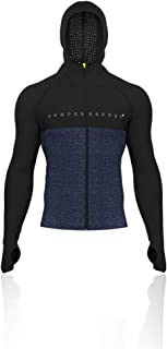 3D Thermo Seamless Cremallera Hoodie - Negra Edition - AW18 - XL