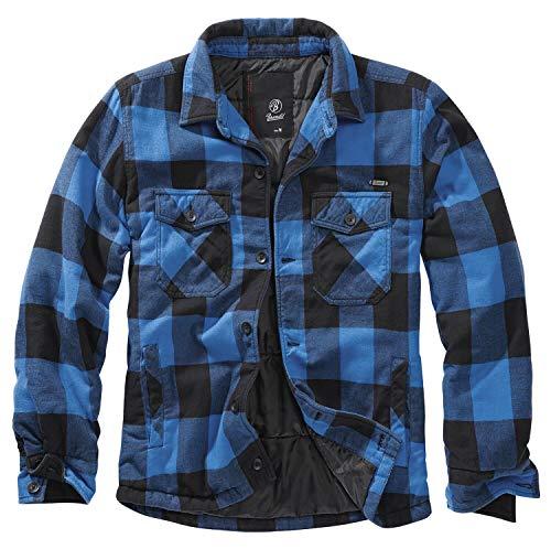 Brandit Lumber Hemdjacke Black/Blue- 3XL