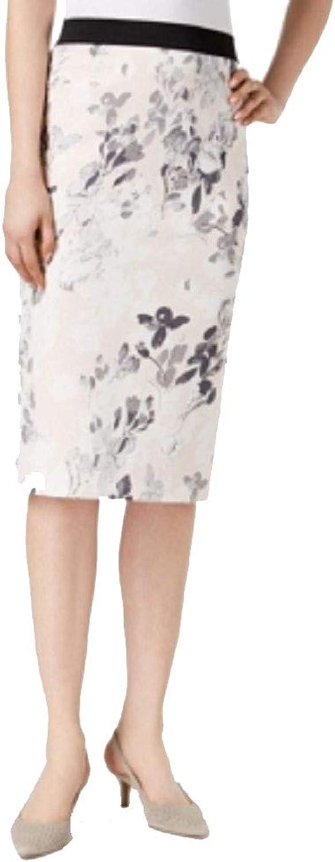 Alfani Petite Printed Pencil Skirt