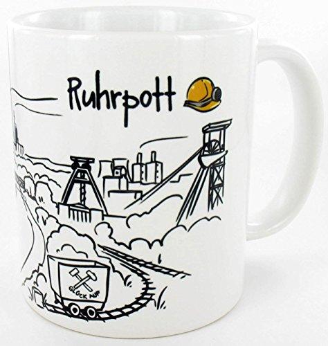 die stadtmeister Keramiktasse Skyline Ruhrpott