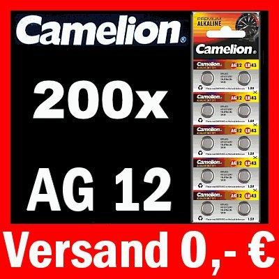 200 x PILES bOUTON aG12 lR43 186 gP86A 386 sR43W cAMELION