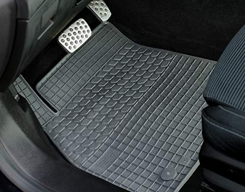 2004-2011 100/% passform Fussmatten Autoteppiche Schwarz Audi A6 4F2 Avant Bj