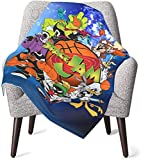 Space Jam Tune Squad Marvin & Bugs Bunny Baby Blankets The in 2020 for Unisex Baby 40X30inch