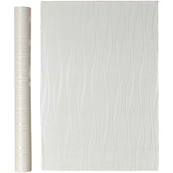 QD-BYM 壁紙シール 壁紙 簡単貼付シール 壁紙クロス ストライプ調 賃貸OK 防水 防潮 健康 補修 60cm×10m 【新規】 (ライトベージュ(60cm*10m))
