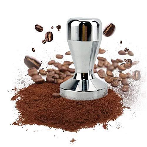 ZEXIN Aluminium Alloy Espresso Maker Pressed Cafe Machine Accessories Coffee Tamper Coffee Bean Press Tool Powder Hammer(51x76mm)