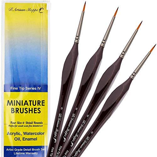 size 0 paint brush - 9