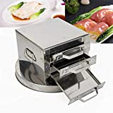 Stainless Steel Kitchen Food Layer Rice Roll Steamer Drawer Machine Rice Milk Furnace Cooking...