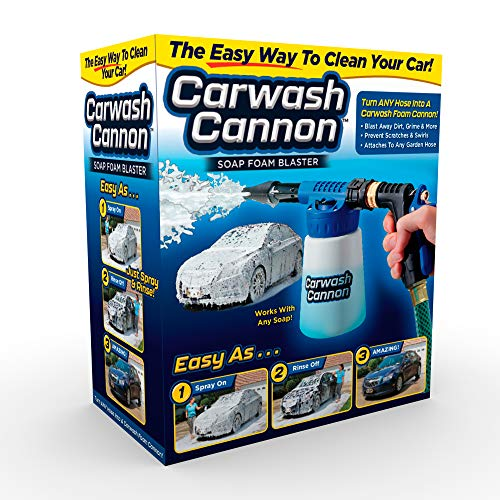 Ontel Car Wash Cannon Foam Blaster Hose Nozzle Spray Gun