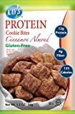 Kay's Naturals Protein Cookie Bites, Cinnamon Almond, Gluten-Free, Low Fat, Diabetes Friendly All Natural Flavorings, 1.2 Ounce (Pack of 12) from Kay's Naturals