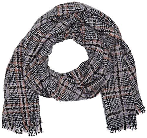 Dorothy Perkins Damen Coloured Boucle Check Schal, Mehrfarbig (Multi 1032), Size (Herstellergröße: One)