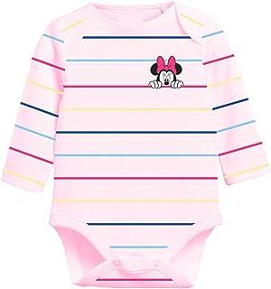 Yuhu Disney Minnie Mouse Mädchen Baby Body Strampler Langarm