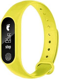 ZHONGYUAN Pulsera Smart Health Pulsera de Ritmo cardíaco Life - Impermeable Deportes Pasos de Fitness Mensaje Pulsera Inteligente