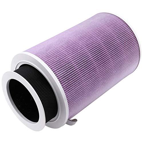 PUGONGYING Popular Filtro de Aire Activado Carbón PM2.5 Capa de Malla de Carbono extraíble Ajuste Adecuado para Xiaomi 1/2/2S / 3/3H Pro Filtro de Aire Durable (Color : Purple)