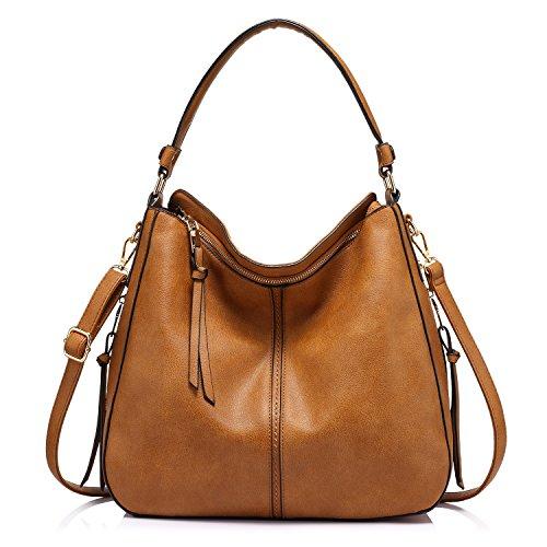 Handbags for Women Large Designer Ladies Hobo bag Bucket Purse Faux...