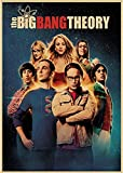 Leinwand Poster The Big Bang Theory Filmplakat Bar Cafe