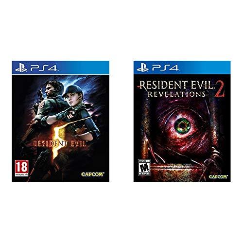 Resident Evil 5 (Inc. All DLC) PS4 - PlayStation 4 & Evil Revelations 2 Ps4 Playstation 4
