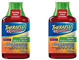 Theraflu ExpressMax Syrup for Nighttime Severe Cold and Cough, Berry Cough Syrup, 8.3 (Pack of 2)