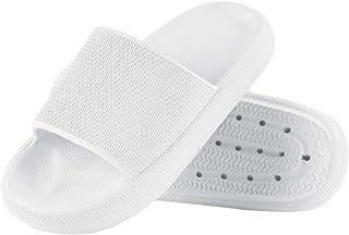 Menore Pantoufle Femmes Antidérapantes Bain Sandal Soft Foam Sole Chaussures De Piscine Maison Accueil Slide pour l'intéri...