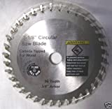 3-1/8' x 3/8' x 1/16' x 36T Carbide Saw Blade for TruePower Mini-Miter Saw #805 - Size Corrected