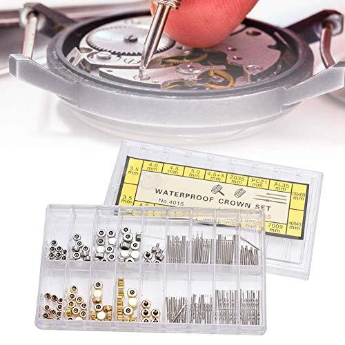 Kit di barre a molla per orologi, perni di collegamento in acciaio inossidabile per riparare gli orologi