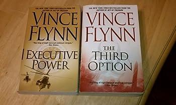 Set of 2 Vince Flynn Books  The Third Option Executive Power