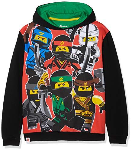 Lego Ninjago Jungen Lego Ninjago Sweatshirt, Mehrfarbig, 122 (Herstellergröße: 6 - 7 Jahre)