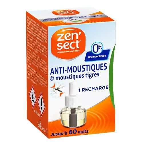 ZenSect Moustiques – Recharge pour Diffuseur électrique (45