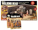 McFarlane Toys Construction Set - The Walking Dead - The Governor's Room & 2 Packs of Series 1 Blind Bags by Walking Dead