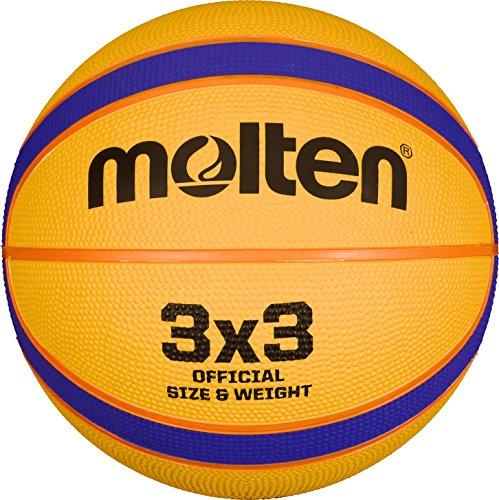 Molten Erwachsene B33T2000 Basketball, Gelb, 6