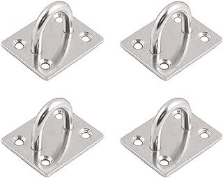 FYRONDY Screws Mount Stainless Steel Ceiling Hook Hanger ( 4 in pack )