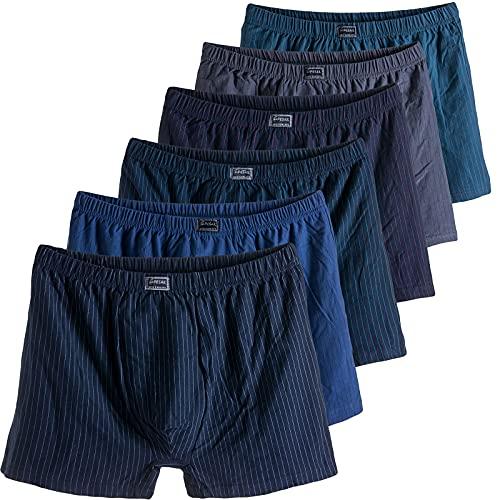 Herren Boxershorts Unterwäsche Unterhose Gr. 4XL - 7XL Übergröße Baumwolle 4XL 4er Pack Mix 2