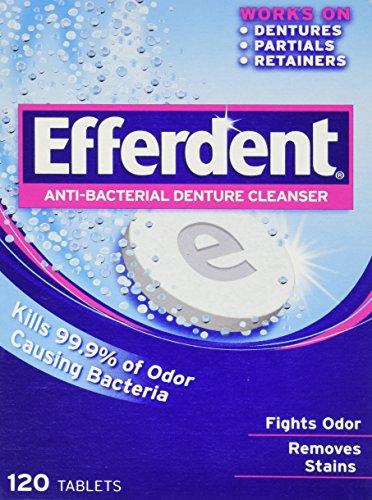 Efferdent Anti-Bacterial Denture Cleanser-126 Count