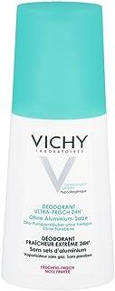 Vichy Deodorant Ultra de recién 24h fruchtig de recién Spray, 100ml