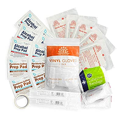 PAWLARIS First aid kit REFILL pack by RidgeWalker