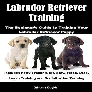 Labrador Retriever Training: The Beginner's Guide to Training Your Labrador Retriever Puppy audiobook cover art