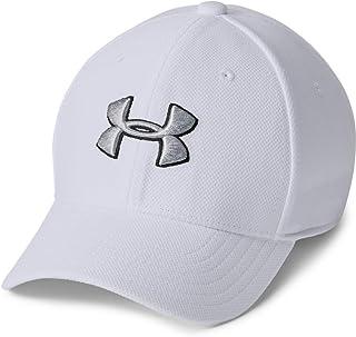 Under Armour UA Boy's Blitzing 3.0 Cap, Casquette à forme classique, casquette garçon avec bandeau anti-transpiration inté...