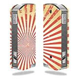 Decal Sticker Skin WRAP Faded Sunburst Vector Art for Pioneer4you iPV Mini