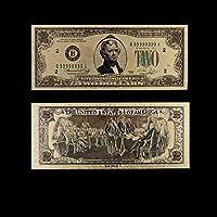 XMSM 紙幣米ゴールド紙幣USA金箔1ミリオンダラー・ビル注ゴールド紙幣コレクションホームデコレーション (色 : Style 2)