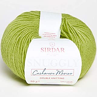 Sirdar Snuggly Cashmere Merino 466 Lime