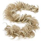 Prettyshop XXXL - Parrucca, con gomma elastica, per taglio updo, voluminosa, chignon arricciato e irregolare