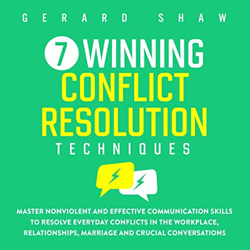 7 Winning Conflict Resolution Techniques cover art